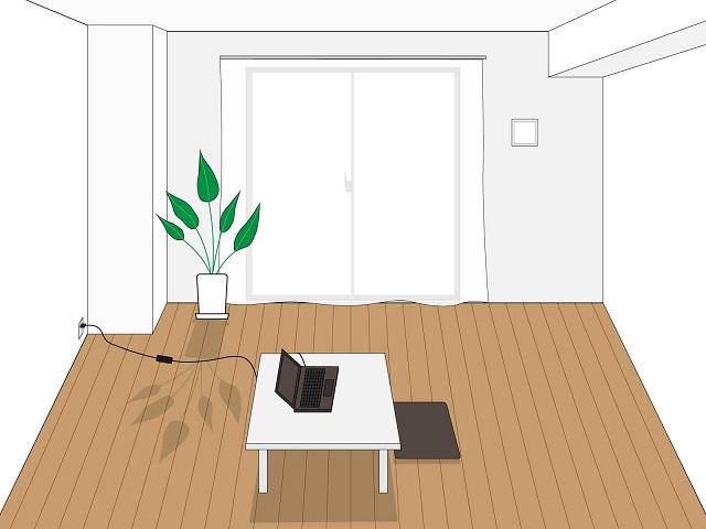 シンプルな部屋